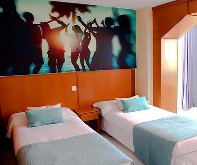 Apartment Standard (Living Room + 1 Bedroom) 2/5 Apartamentos Benidorm Celebrations™ Pool Party Resort (Adults Only)