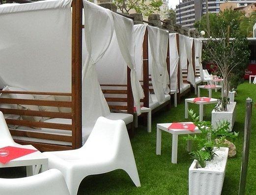 Площадь балийские кровати Apartamentos Benidorm Celebrations™ Pool Party Resort (Adults Only)