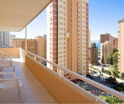 Apartment Superior (Living Room + 1 Bedroom + Terrace) 4/6 Apartamentos Benidorm Celebrations™ Pool Party Resort (Adults Only)