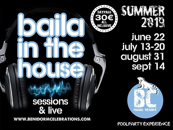 Baila in the house апартаменты benidorm celebrations™ music resort (adults only) бенидорм