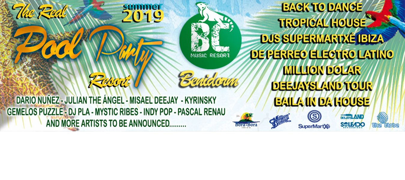 - апартаменты Benidorm Celebrations™ Pool Party Resort (Adults Only)